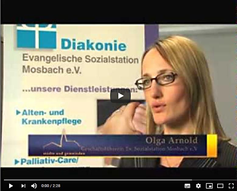 Screenshot Imagefilm Evangelische Sozialstation Mosbach