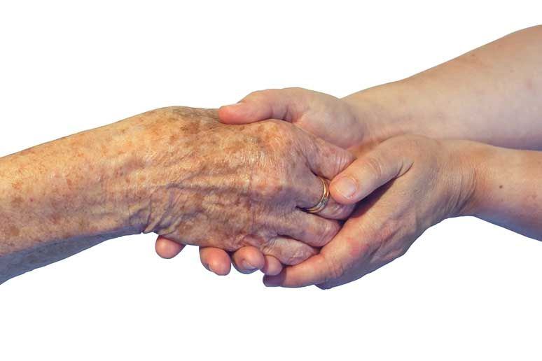 tröstende Hände - Erwachsenenhospizdienst Mosbach